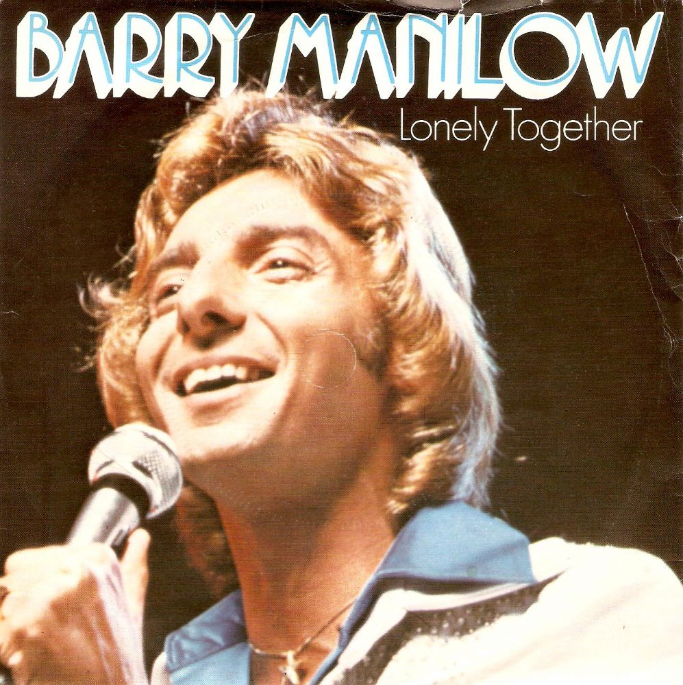 BARRY MANILOW Lonely Together Vinyl Record 7 Inch Arista 1980